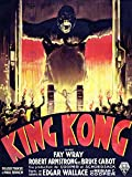 FILM KING KONG HORROR MONSTER 30X40 CMS FINE ART PRINT PLAKAT KUNST ART POSTER BB7864