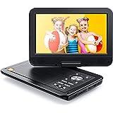 APEMAN 12,5 ''Lecteur DVD de voiture portable avec écran rotatif 10,5 '' Batterie rechargeable intégrée Carte SD…