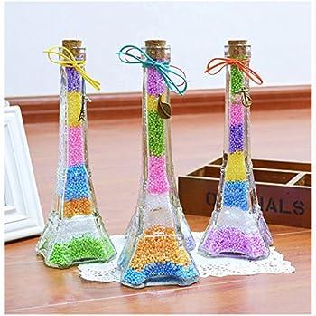 Vi-go, Mini Styropor Bälle Für Schlamm, Tiny Schaum Perlen Für Floam, Für Diy Kreative Handwerk Hochzeit Und Party Decarations, 0,1-0,18 Zoll, 42000 Stück (8pack 8color) 3