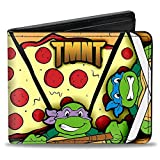 Best Buckle Down 80s Movies - TMNT Cartoon TV Series Pizza Loving Turtles Bi-Fold Review