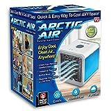 Climatiseur Mobile Ventilateur, Arctic Air Refroidisseur d'Air USB Portable Refroidisseur D'air Personnel Puissant pour Maison/Bureau/Camping