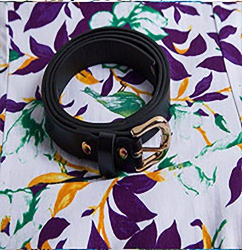 Damen Modisch Rundkragen Retro Temperament Faltenrock Swing Abendkleider Freizeitkleider Kleid Cocktailkleid stil 12