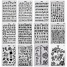 Amazonit Stencil Lettere
