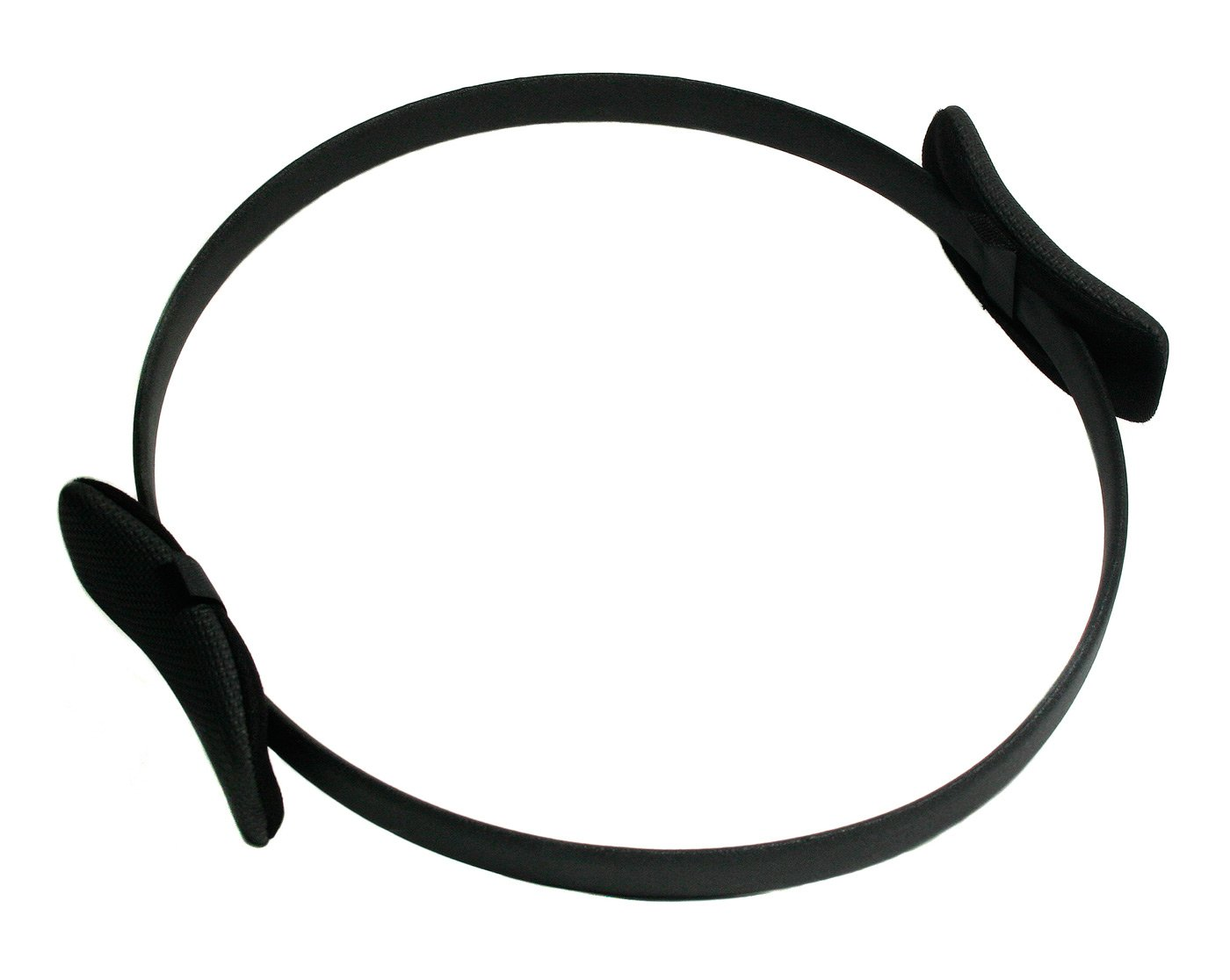 Yogistar 105517 - Anillo de ejercicios para pilates (metal, antideslizante), color negro