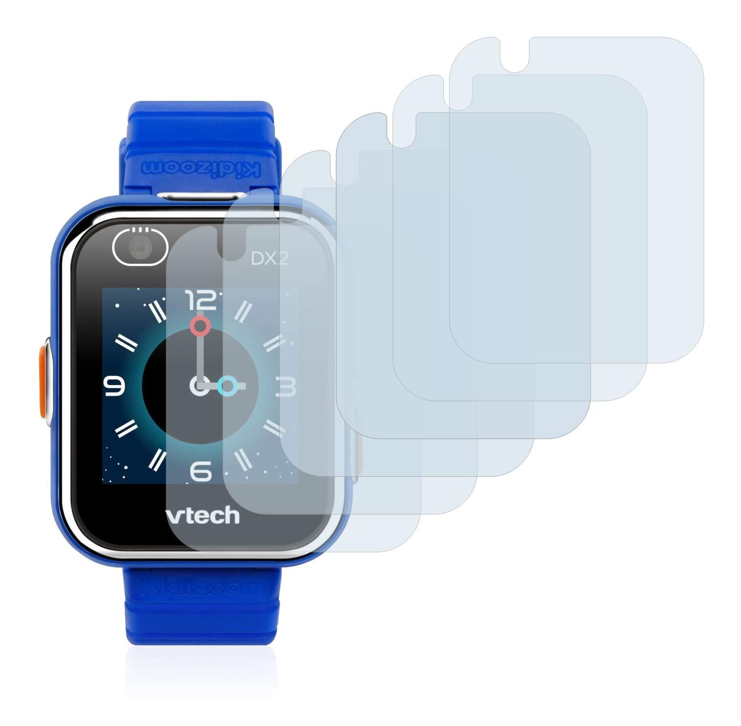 savvies Protector Pantalla Compatible con Vtech Kidizoom Smart Watch DX2 (6 Unidades) Pelicula Ultra Transparente 2