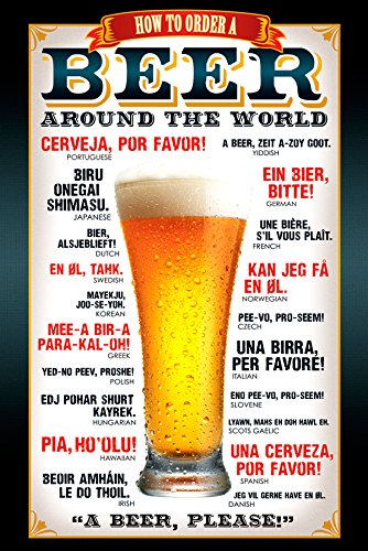 GB eye LTD, Cerveza, Como pedir, Maxi Poster, 61 x 91,5 cm