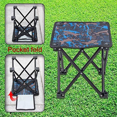 Zoom IMG-3 piccolo sedia campeggio pieghevole sgabello