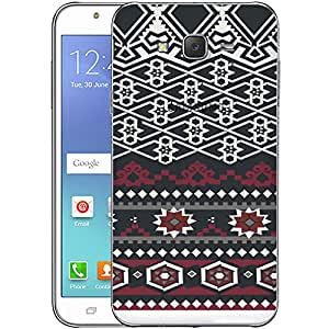 Digione designer Back Replacement Texture Plastic Cover Panel Battery Cover Snap on Case Cover for Samsung Galaxy J7 2015 ID:J7385