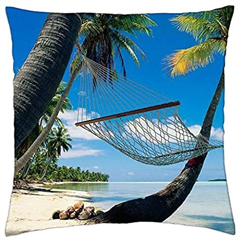Montego Bay, Jamaica - Throw Pillow Cover Case (18