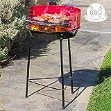 Barbacoa de carbón con patas BBQ Classics