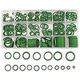 FEZZ 270 stücke O-Ring Dichtring Gummi Set Klimaanlage Temperaturständig Klimaleitungen Reparatur Werkzeug für Auto Fahrzeug KFZ(im Aufbewahrungsbox)