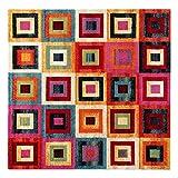 CARILLO Tappeto quadrato Gioia 200x200 cm M032