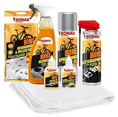 SONAX 7-teiliges Fahrrad Pflege- und Reinigungspaket