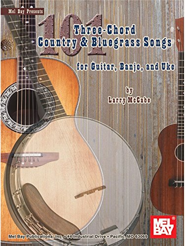 101 Three-Chord Country & Bluegrass ...