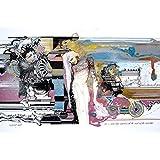 """DIBUJO CON ROTULADORES: """"Escena"""" . Obra única. Formato: 65x50 cm."""