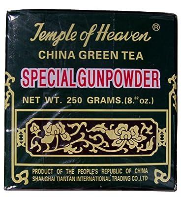 Thé vert Gunpowder 250gram - Temple du Ciel - Feuille en vrac