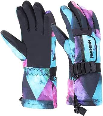 Winter Handschuhe Kinder Wasserdicht 5-12 Jahre  Fahrradhandschuhe Skihandschuhe