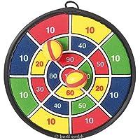 Ringe werfen Ringwurfspiel Playtive Junior Wurfspiel Set 12-teilig aus Echtholz