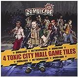 Zombicide: 4 Toxic City Mall Game Tiles - Juego de mesa, para 1 o más jugadores (Guillotine GUG0022) (importado)
