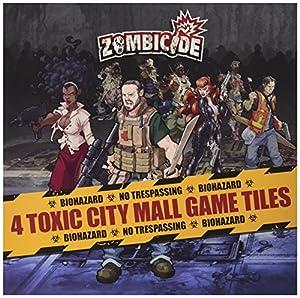 Edge Entertainment- Zombicide: Toxic City Mall Game Tiles - Varios Idiomas, Color (EDGZG22)