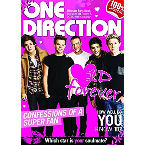 One Direction Ultimate Fan's Book 100% Unofficial Includes 1D Wall Poster and 1D Wall Calendar by BCC Promotions (9-Oct-2014) Hardcover