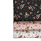 Shi Tong DIY-Stoffpaket, Baumwolle, Erdbeer-Motiv, für