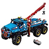 LEGO Technic 6 x 6 All Terrain Tow Truck 42070 Building Kit (1862 Piece)
