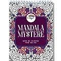 Livre de Coloriage Adulte - Coloriage Mystere Mandala Adulte, le Premier Cahier de Coloriage Mystère Adulte avec Papier Artiste et Reliure Spirale par Colorya