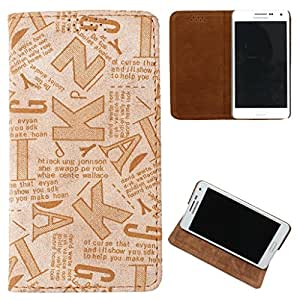 For LG leon - DooDa Quality PU Leather Flip Case Cover With Smooth inner Velvet To Keep Screen Scratch-Free