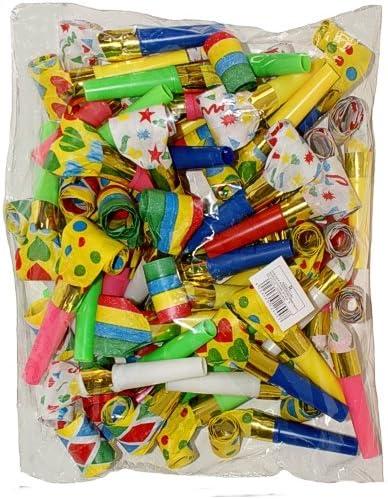 1097 Lot de 48 sans-gênes multicolores multicolores sans-gênes pour faire la fête b9db01