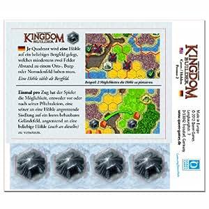 Queen Games 61027 - Kingdom Builder Erweiterungsmodul 2: Höhle
