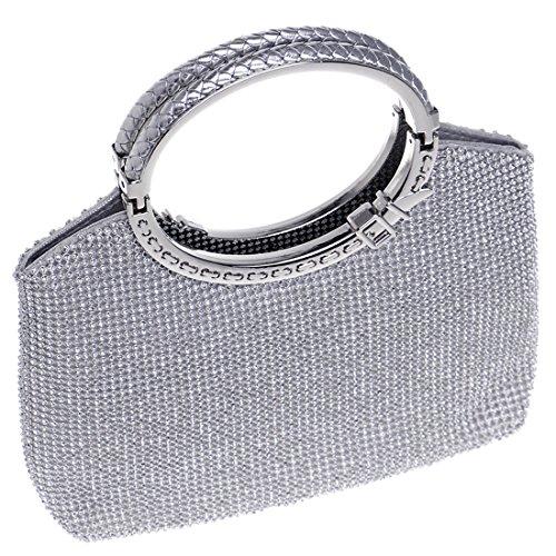 Santimon 20180105057, Poschette giorno donna S Silver