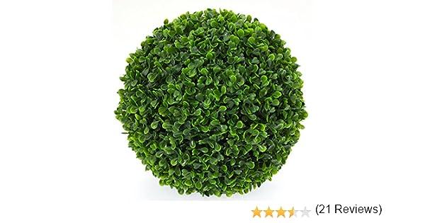 Plante Artificielle int/érieur//Ext/érieur 27 cm Boule de Buis Artificiel Grand mod/èle