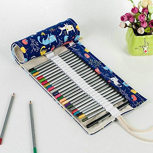 Haosen 72 Farbe Federmäppchen Hand-kreative Bleistiftbeutel mit großer Kapazität - Art Zeichnen, bunt Pencil Case (Kitten)