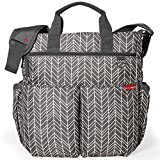 Skip Hop 200300 Duo Signature - Wickeltasche, Grey Feather, mehrfarbig