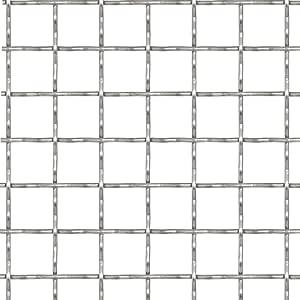Festnight Panneau de Grillage Acier Inoxydable 100x100 cm 21x21x2,5 mm
