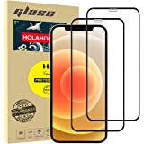 """Holahoney Screen Protector For iPhone 12 Pro Max (6.7"""") [Edge to Edge Coverage] Full Protection Durable HD Tempered Glass - 2"""