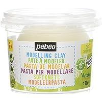 PEBEO Pot à Modeler Blanc 100 g 7 x 7 x 5,5 cm