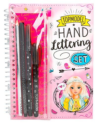 Depesche 8581 - Handlettering Set TOPModel, mit Buch und Stiften