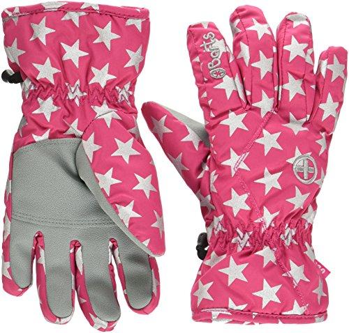 Barts Kids Handschuhe, rosa (Berry stars), 6 (10-12 Jahre)