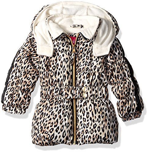 Pink Platinum Baby Mädchen Jacke Gr. 24 Monate, cremefarben (Pink Ribbon-fleece)
