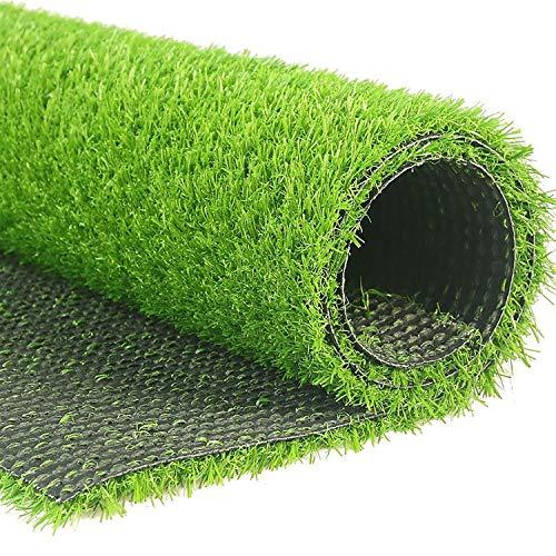High-density Schwarz Tinte (2 x 1m Kunstrasenteppich, Outdoor Green High Density Fake Lawn Turf of Dogs Haustiere Natürlich und realistisch aussehender Garten Ordentlich Üppiger 10-mm-Flor, leicht zu schneiden und zu formen)