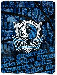 NBA Dallas Mavericks Redux Micro Raschel Throw Blanket, 46x60-Inch by Northwest