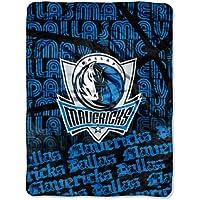Northwest NBA Dallas Mavericks-Episoden Micro Raschel Überwurf Decke, 46x 152,4cm