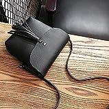 MOCA' Faux Leather Pretty Tassel Mini Bl...