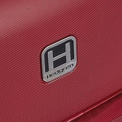 61JMvQddwlL. SS416  - Hedgren HFO06W / 779-01 Fórmula Uno maleta, 42 cm, 38 litros, Negro / combo Red
