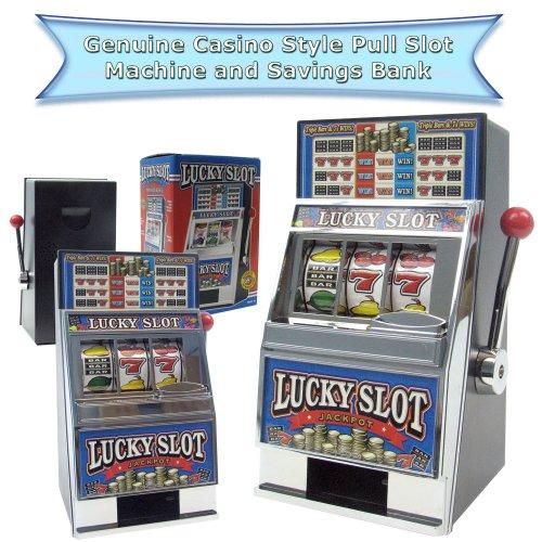 Trademark Poker Jouer Le Jeu Lucky Slot Machine Bank