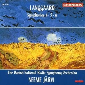 Langgaard: Symphonies 4, 5, 6