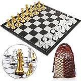 Jeu d'échecs magnétique pliant 35,6 x 35,6 cm