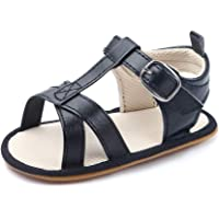 Baby Girls Open Toe Sandals Infant Toddler Summer Casual Flat Anti Slip Walking Shoes